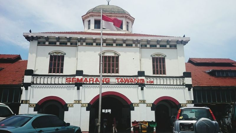 Tawang station 😍😍 Train Station Central Java Explore Indonesia