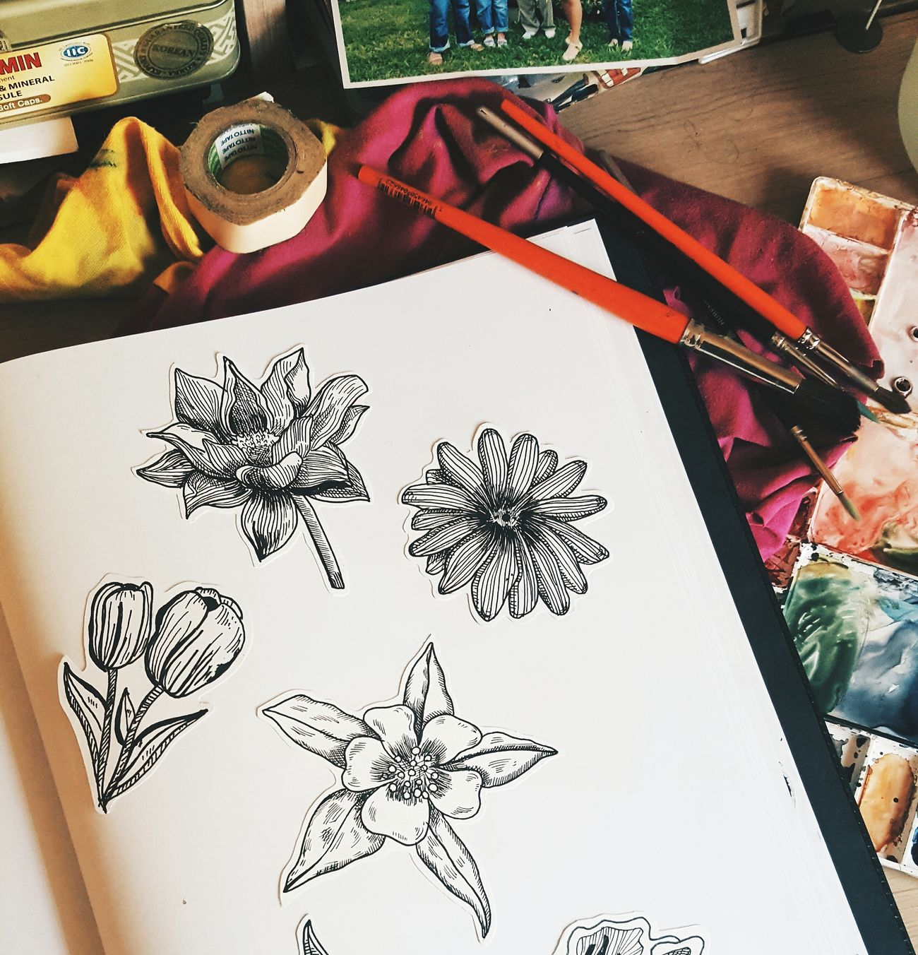 My passion♡ Art Illustration Drawing Floral Flower