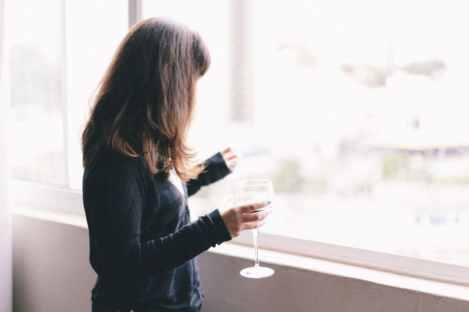 Enjoy The New Normal Wine lovers 🍷 Wine Wine Tasting Wineglass Drink Drinking Drinks Lifestyles Lifestyle Drinking Wine Portrait Portrait Of A Woman Portrait Of A Friend Fresh On Market 2016