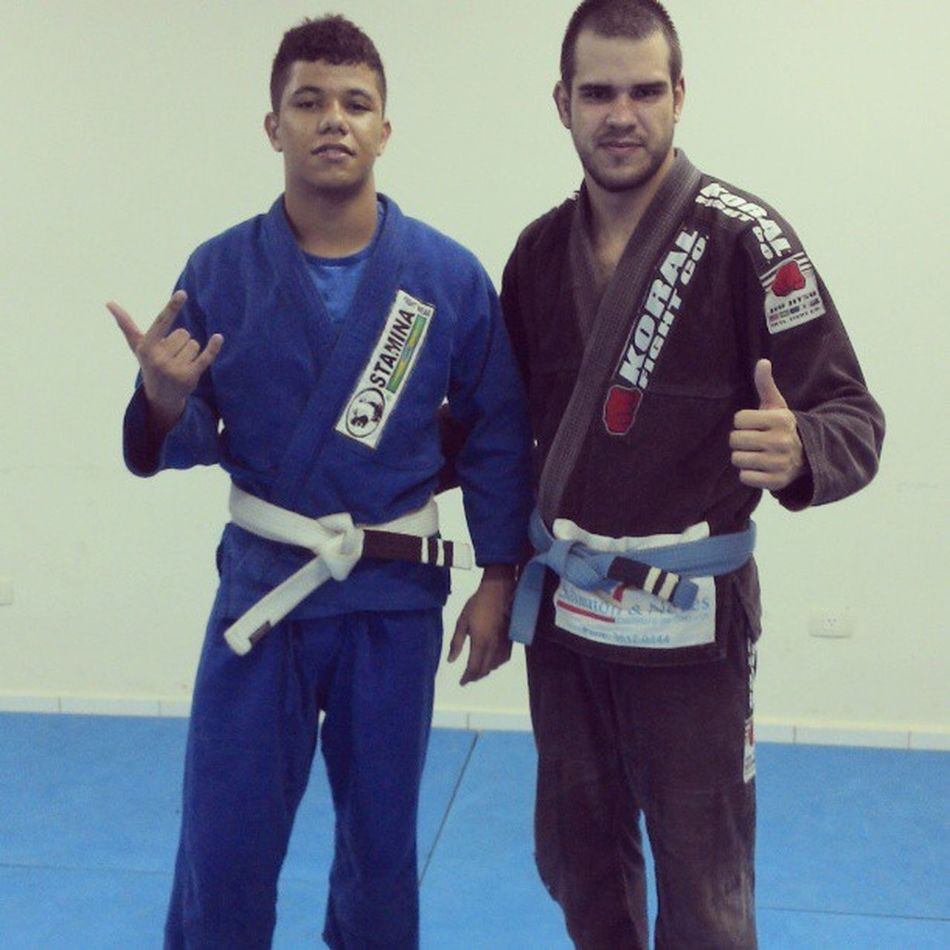 Goodnight JiuJitsu Training Fernandorosalemjiujitsuteam followme followback instalike instapocket bluebelt whitebelt