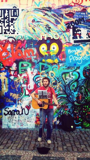 john lennon's wall First Eyeem Photo