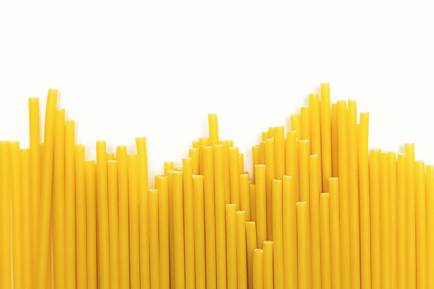 macaroni italian pasta noodles in a row Cooking Copy Space Food And Drink Noodles Spaghetti Abstract Background Background Texture Backgrounds Business Chart Cooking Time Food Foodporn Full Frame Graph Italanfood Italian Kitchen Macaroni Noodle Pasta Raw Food White Background Yellow