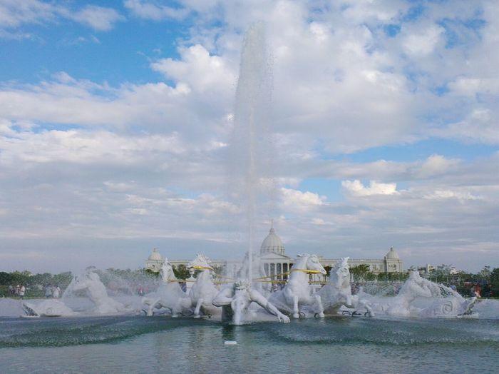 阿波羅噴泉廣場~ Chimei Museum 奇美博物館 仁德區 台南市