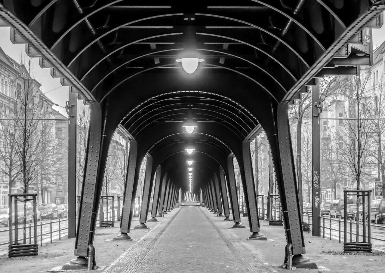 Arch Architecture B&w Berlin Photography Berliner Ansichten Bicycle Black And White Built Structure Day Indoors  Prenzlauer Berg The Way Forward Urban Urban Exploration Viaduct Viadukt Capture Berlin