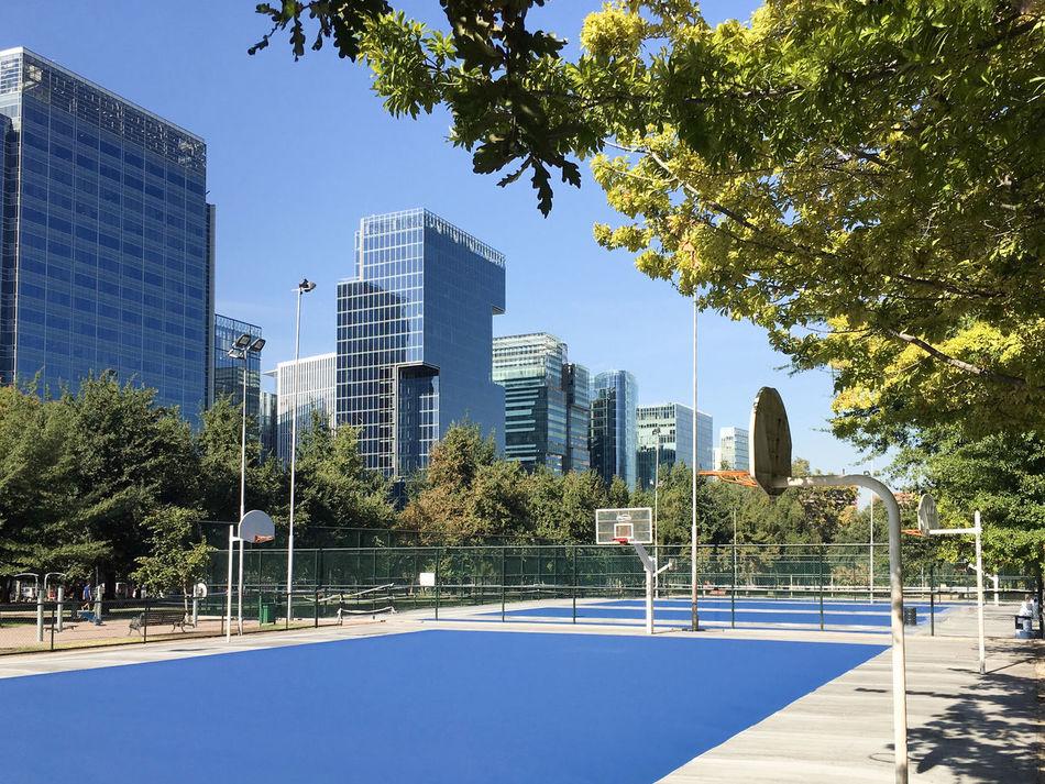 Beautiful stock photos of basketball, Architecture, Basketball, Basketball - Sport, Basketball Hoop