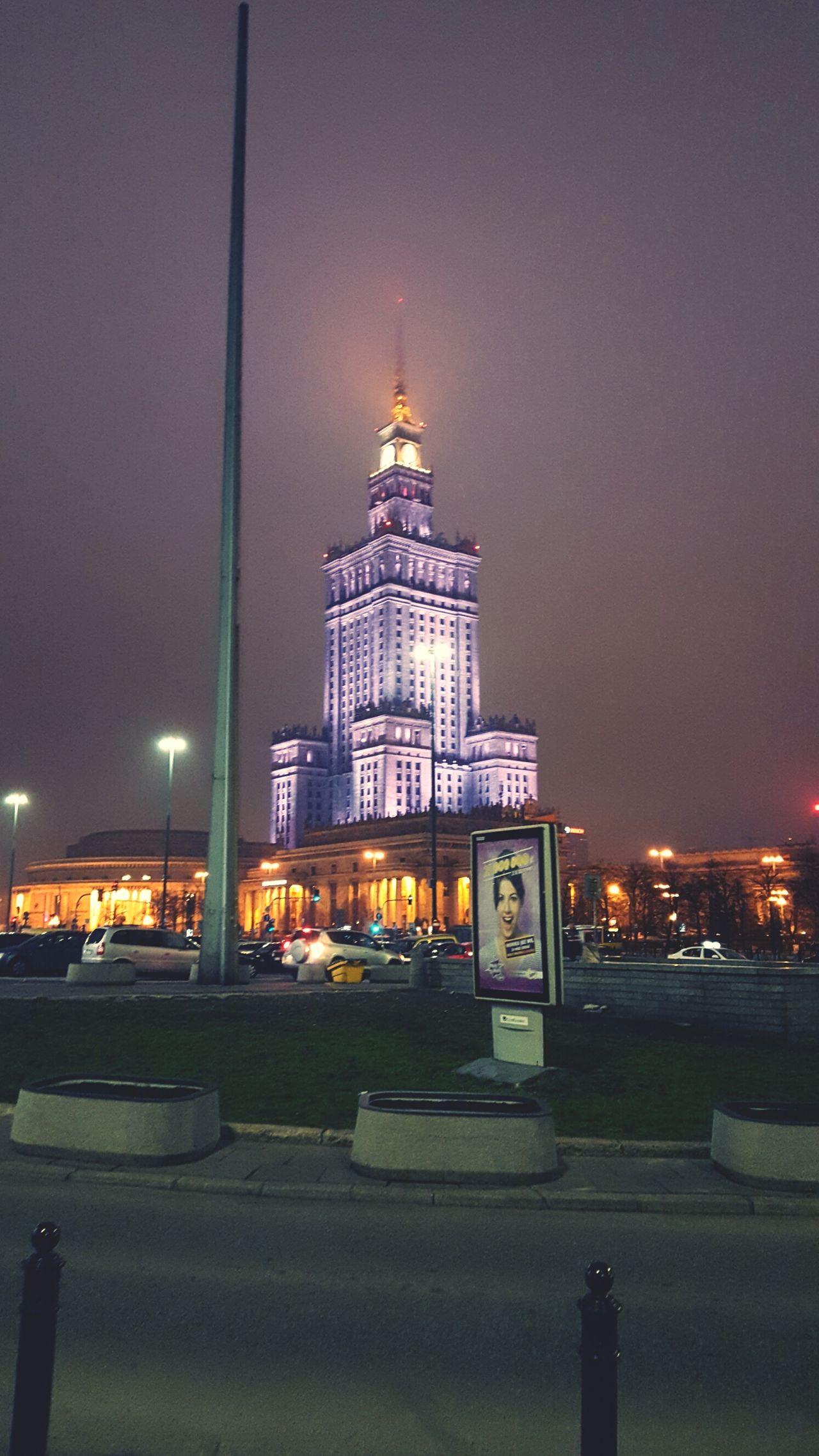 Warsaw Capitol Poland Palackultury Stolica Art Building