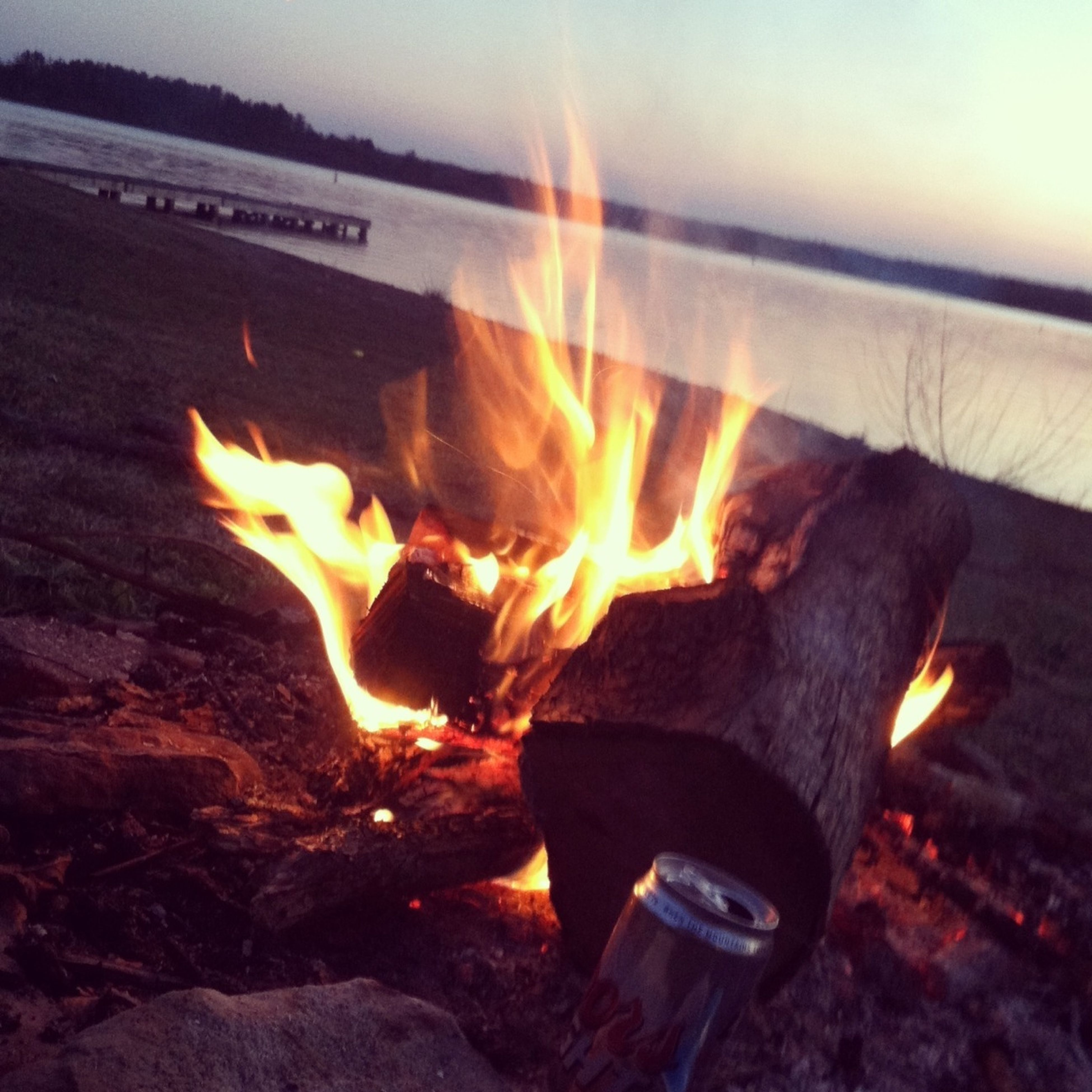 flame, burning, heat - temperature, fire - natural phenomenon, fire, glowing, bonfire, orange color, firewood, heat, sunset, high angle view, night, motion, campfire, outdoors, close-up, sunlight, no people, illuminated