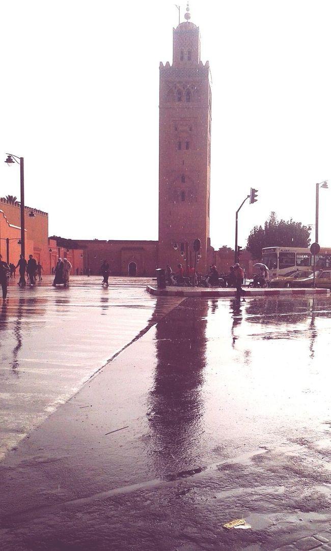 Marrakech kotobia When It's Raining