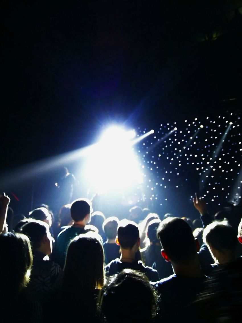Large Group Of People Night Nightlife Fun Illuminated People Music Enjoyment Silhouette Adult Watching Popular Music Concert Multi Colored Adults Only Musician Live Event Concert Hall  Spacerock Modern Rock Rock Music God Is An Astronaut GIAA Saint Petersburg Aurora Concert Hall