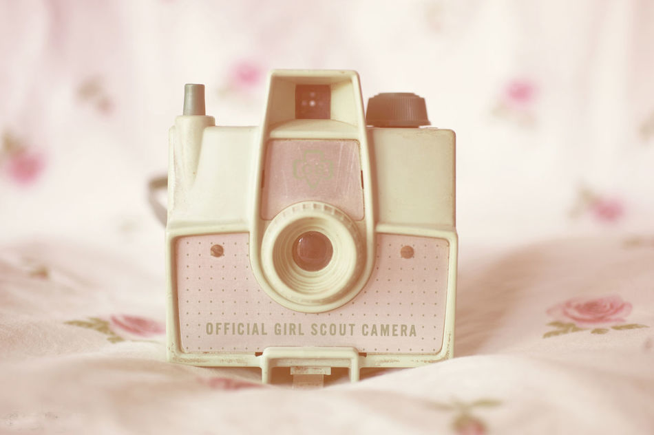 Camera Camera Flowers Mint Green No People Nostalgia Old-fashioned Pink Still Life Still Life Photography