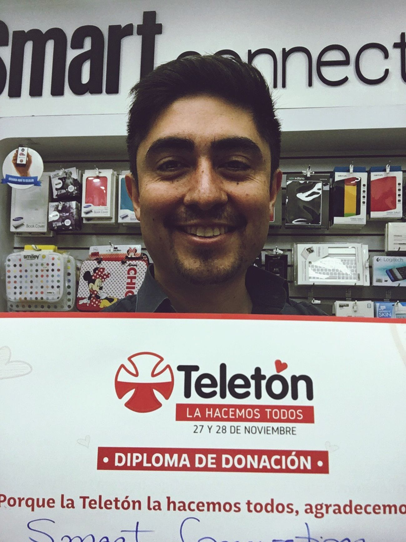 Smart Connection Chile Teleton2015 Chile Ayuda Ayudando