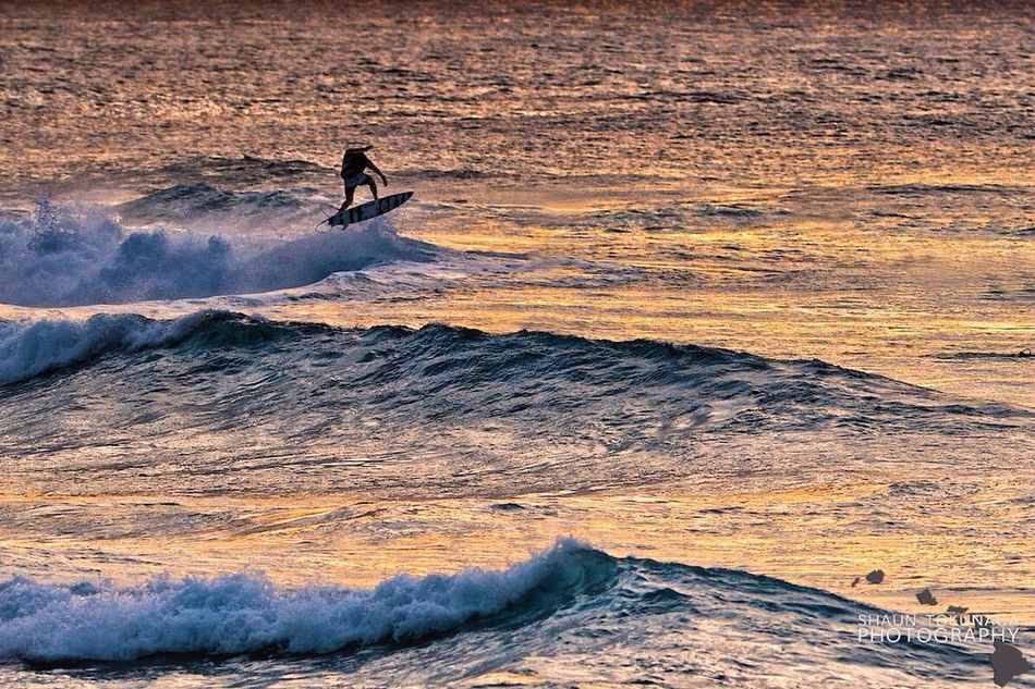 Airtime Surfing Sunset Waves EyeEm Best Shots