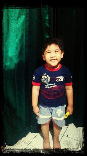 my happy son.. :-) First Eyeem Photo