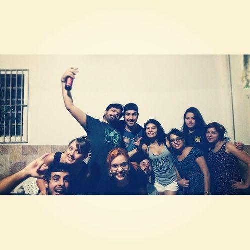 The Crew junto novamente porraaaaa!!! Churrasco HXCX Friends THEZUERANEVERENDS