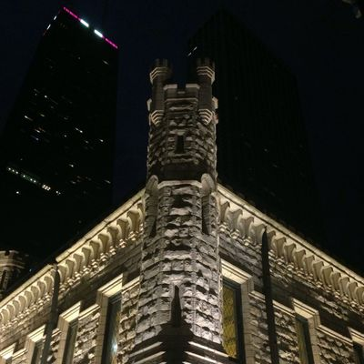 Architecture at Chicago Water Tower by Brian Podolsky