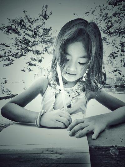 Child Childhood Girl Study