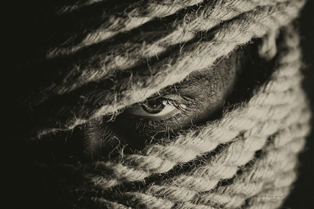 Bandit First Eyeem Photo Bandit Black & White Roap Conceptual