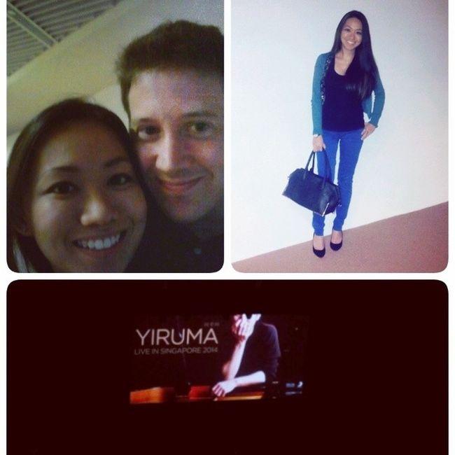 Yiruma piano concert night ^o^ Igsg Piano Yiruma Datenight ootd instacouple bgr instalike instamood instadaily instagood picoftheday singapore mixedcouple enoughhashtags