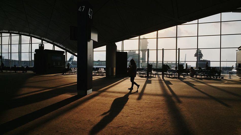 Beautiful stock photos of hong kong, Airport, Airport Terminal, Architectural Column, Caucasian Ethnicity
