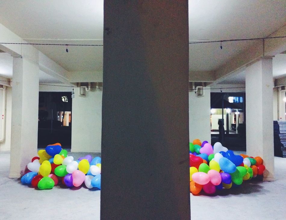 If only love is given as often as giving out balloons Multi Colored Balloons Love Void Deck Celebration EyeEmNewHere