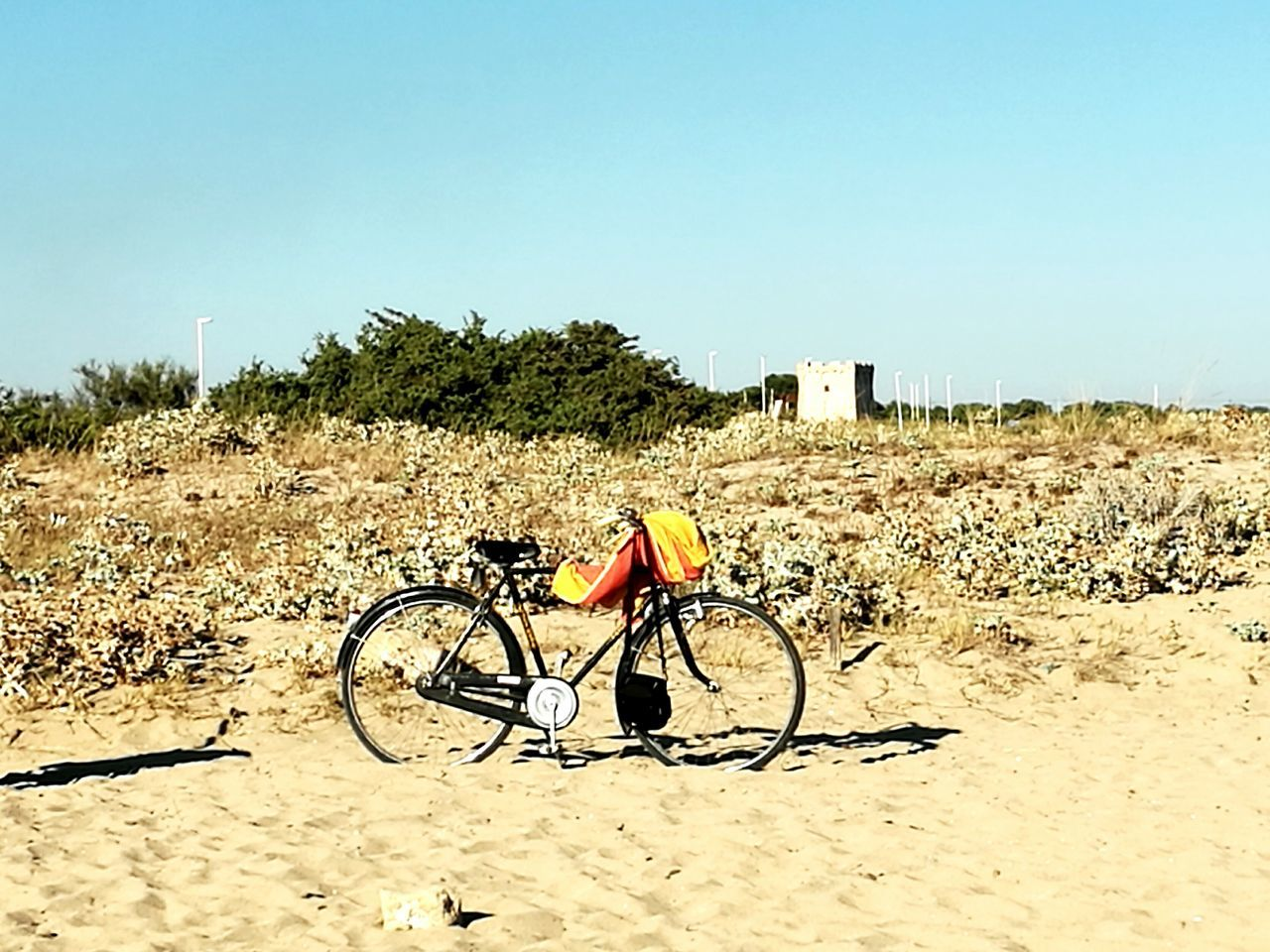 Taking Photos Check This Out Hello World 43 Golden Moments Relaxing Beach Beachphotography Seaside Sea Sun Bycicle Salento Taranto Puglia South Italy Puglia
