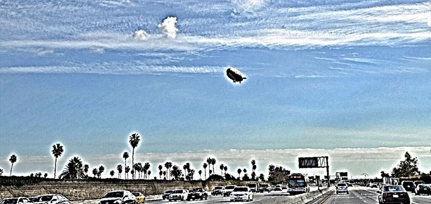 Goodyear blimp by Triple the Agent