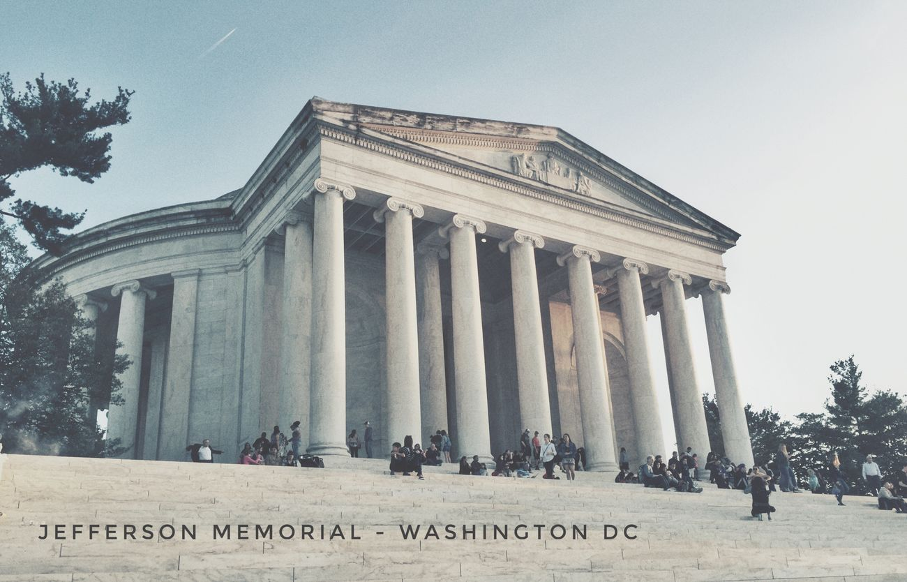 Jefferson Memorial Architectural Column Travel Destinations Architecture History Portrait Portraits EyeEm Masterclass Professionalphotography IPhoneography Mobilephotography