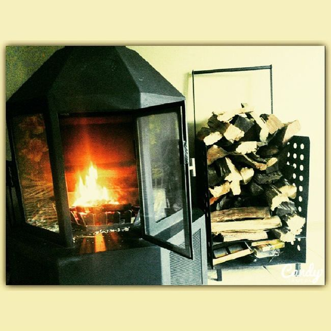 Nice & Cozy for the Winter! ^^ Winter Southafrica Cozytime NiceAndCozy Fireplace Firewood Fire Wood