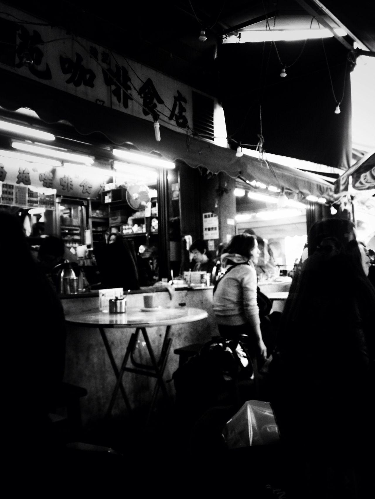 blackandwhite at 西苑強記咖啡食店 Blackandwhite