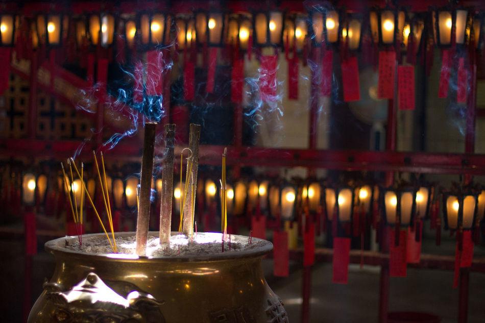 Beautiful stock photos of prayer, Burning, Emitting, Focus On Foreground, Incense