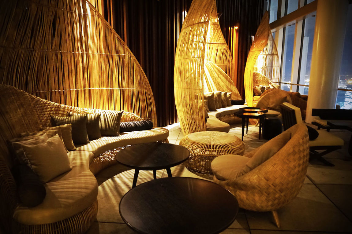 2015  Andaz ANdAZ Tokyo Asian  Cafe Chair Hotel Japan Light Living Room Luxury Night Relaxation Restaurant Tokyo Vacations アンダーズ