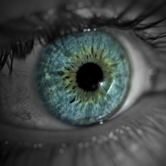 Photo by: @smilelike36 А на левом вокруг зрачка карие , на правом зеленые. Не знал что у меня есть и зеленый:/ макро глаза  синиеглаза Macro Eye Blueeye