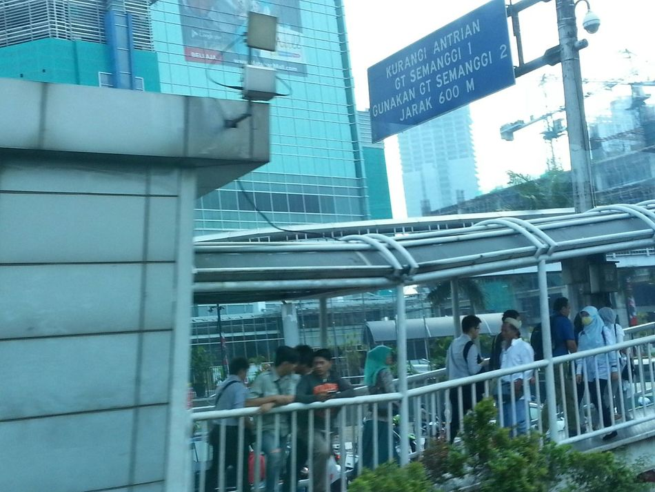 Taken Through A Moving Bus Window INDONESIA