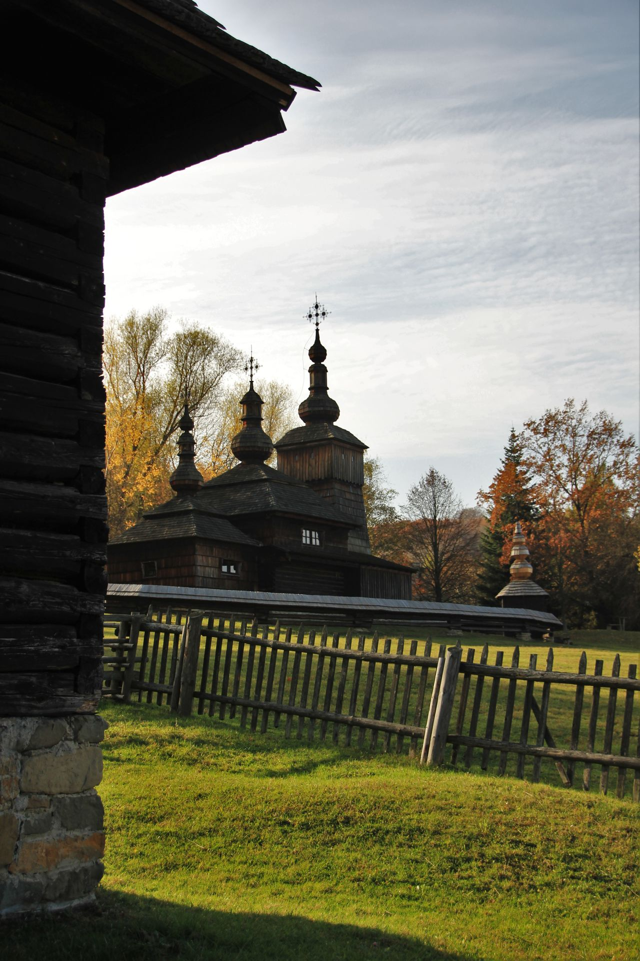 Architecture Carpathians Carpaty Catholic Eastern Slovakia Famous Place History Memories Of Slovakia Memories ❤ Museum Of The Ukrainian Culture Popular Photos Religion Slovakia Travel Destinations Visiting Vysny Komarnik Wood - Material Wooden Wooden Church