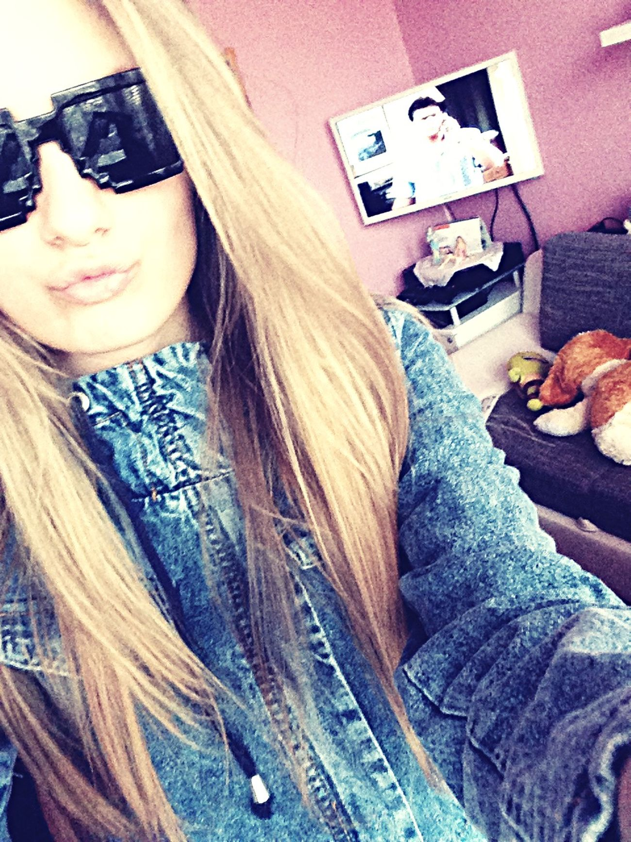 LOL Nehehe Love ♥ Happiness♥ Daydreams♡ Minecraft Sunglasses New Dani Blake  💚