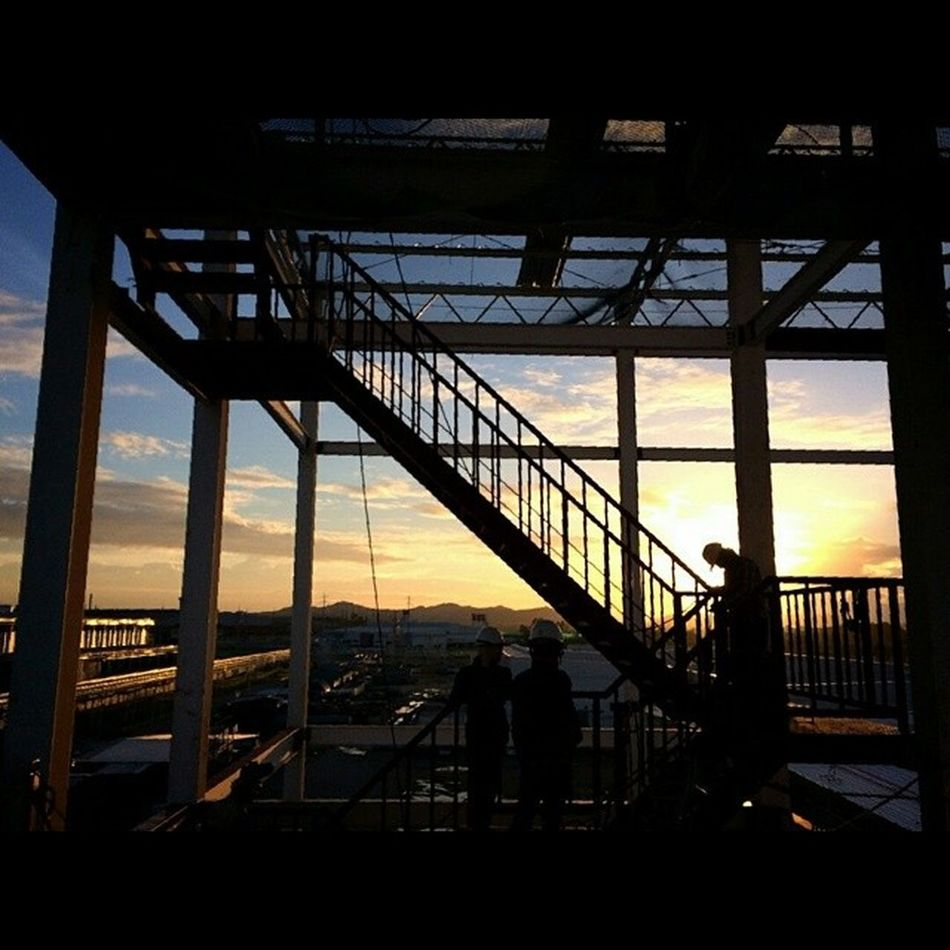 (3) Beautiful site by Lmsasso Lmsky Structure Construction Engineering Stair Twilight