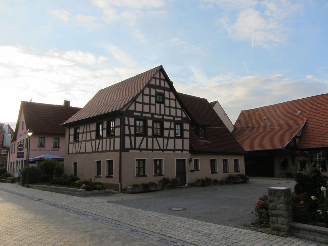 Fachwerkhaus Rothenburg O. T. Traveling Germany