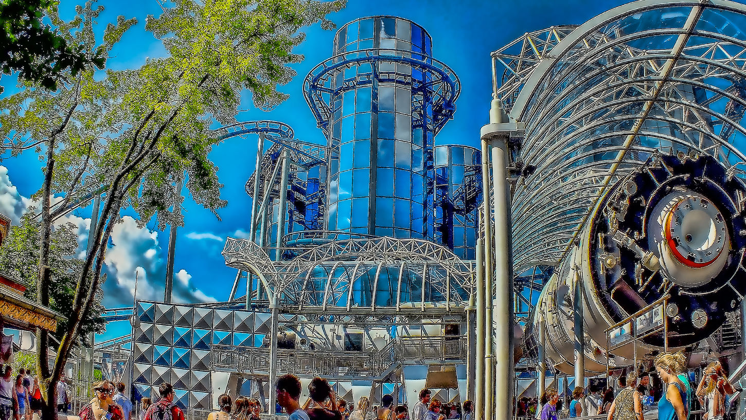Adventurepark Architecture Arts Culture And Entertainment Blue Europapark Europapark Rust Freizeitpark Hdrphotography Outdoors Sky Travel Destinations