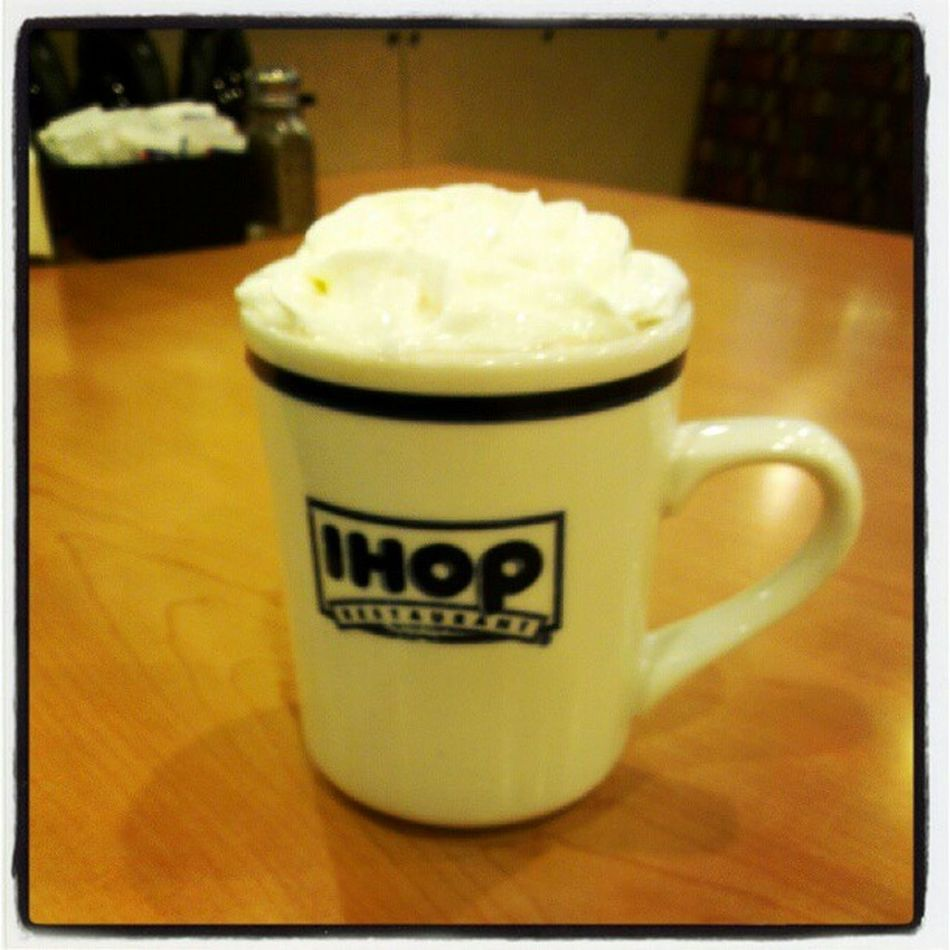 Hot chocolate with whipped cream!!! Sistertime Breakfastallday