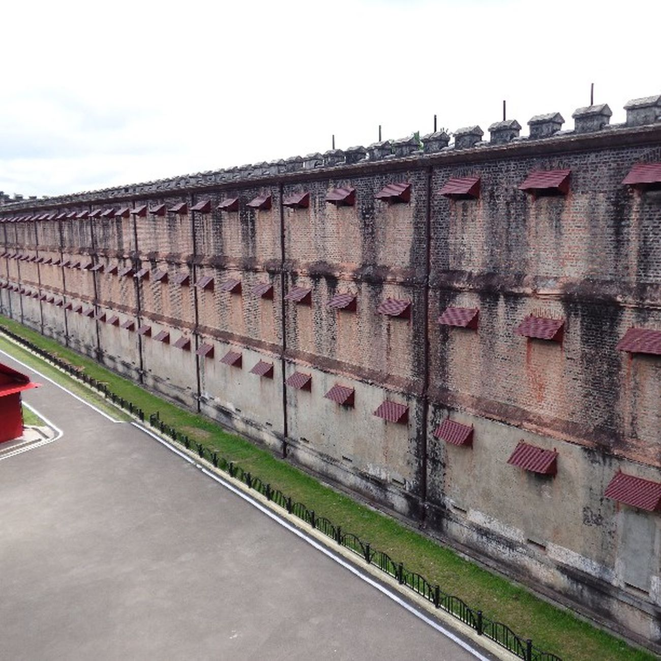 The Cellular Jail, Andaman. CellularJail , Andaman , Andamanislands , Freedom , History , Incredibleindia , India .