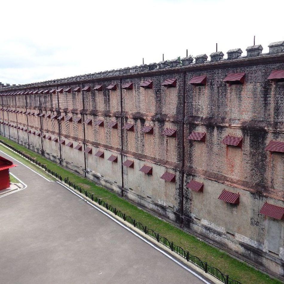 The Cellular Jail, Andaman. CellularJail , Andaman , Andamanislands , Freedom , History , Incredibleindia , India .