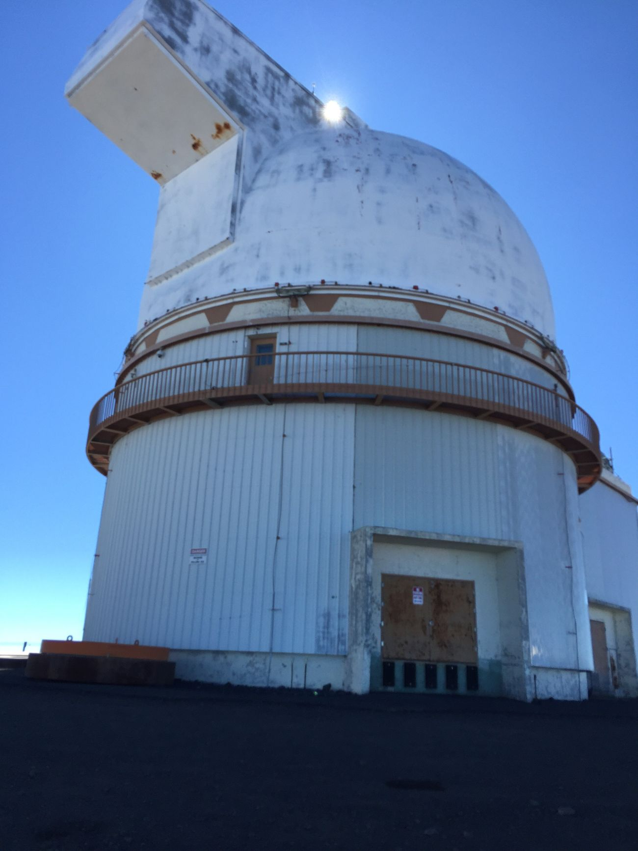 Bigisland Hawaii Observatory 14,000ft Viewformiles Amazing View Blue Outdoors Sky Low Angle View