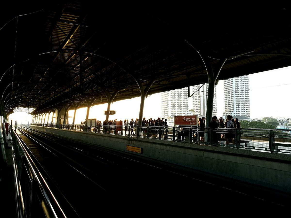 Friday Morning Huamark Station Airport Rail Link