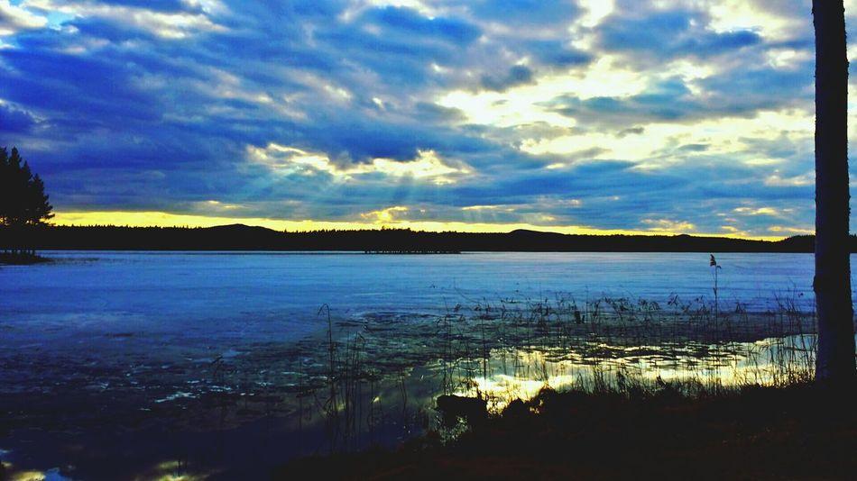"beautiful wiew of the ""greenswamp"" lake. ;) älvsbyn"