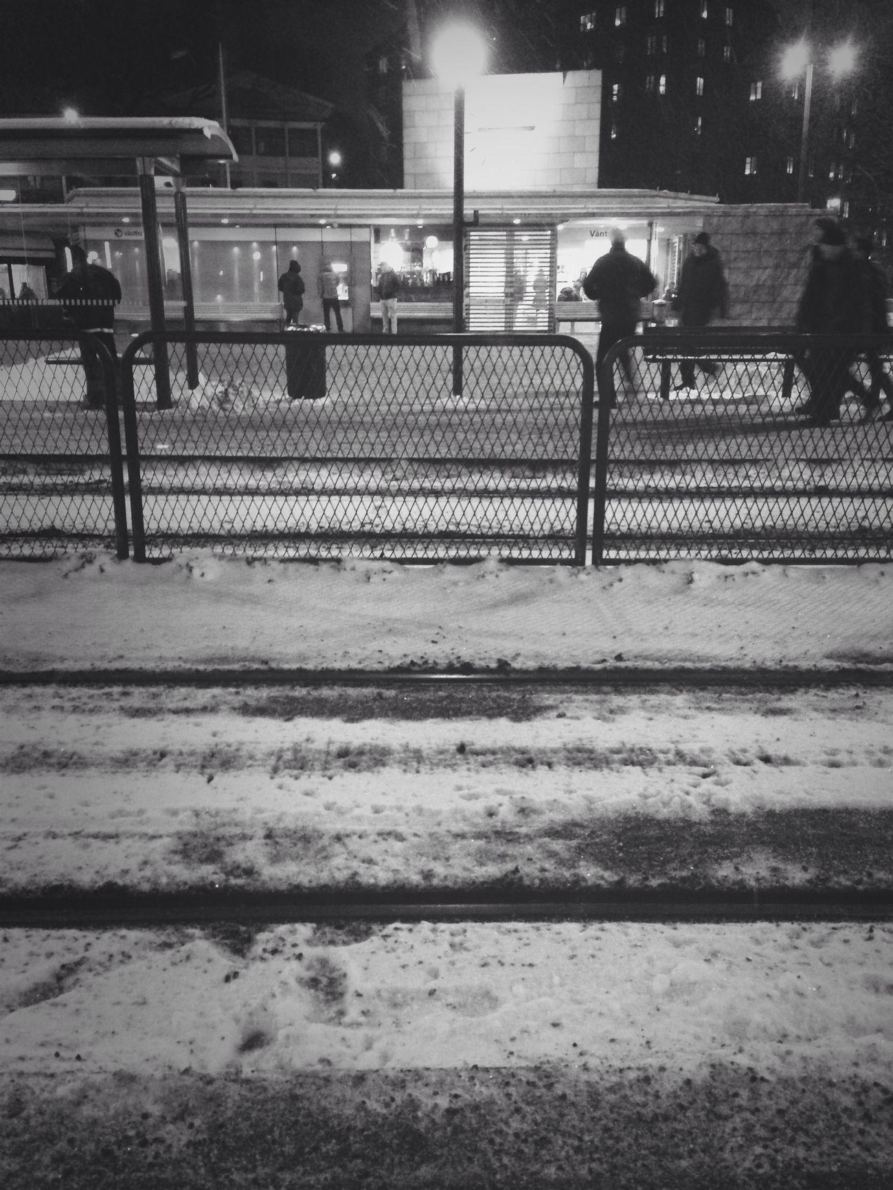 Streetphotography Streetphoto_bw Snow Gothenburg_bw