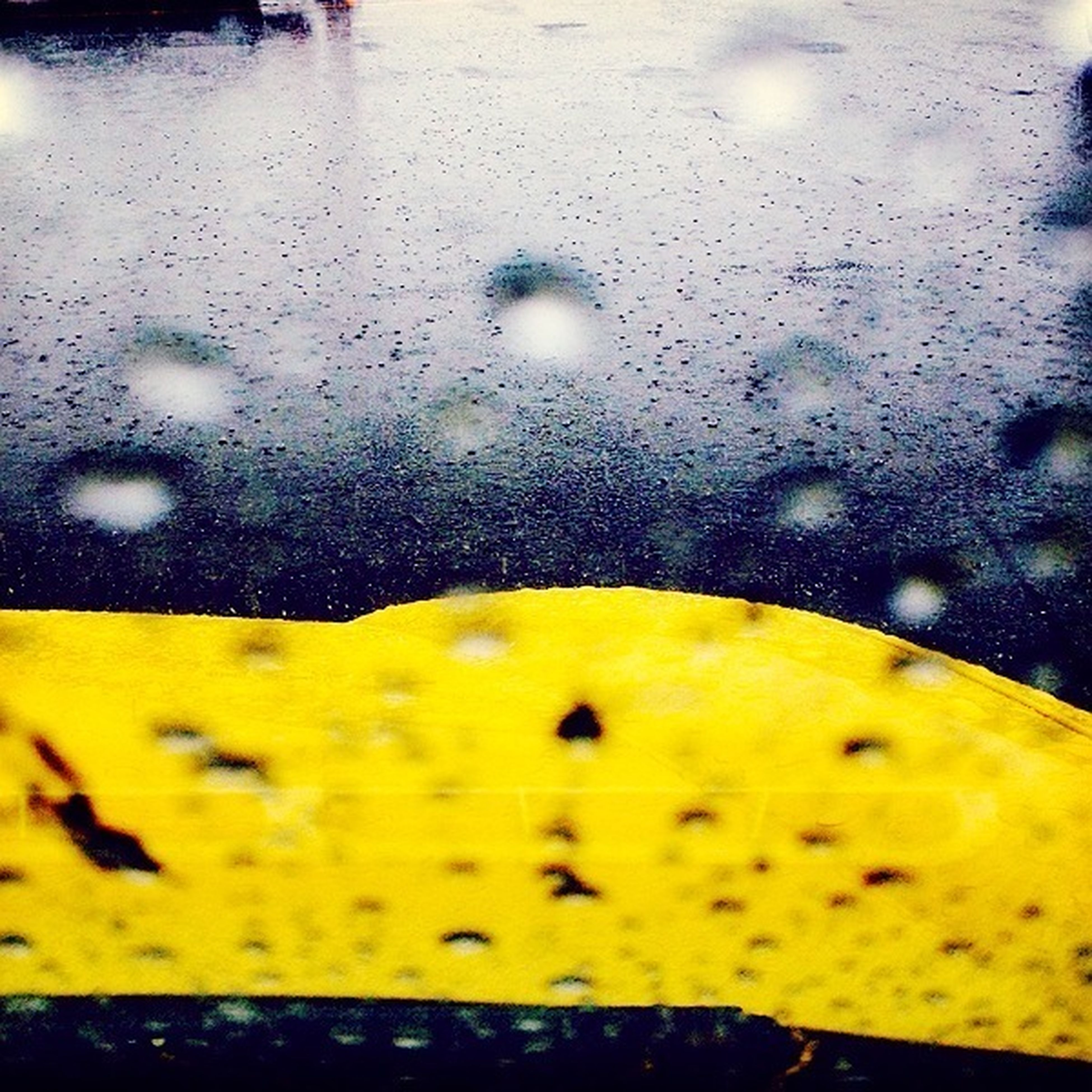 yellow, wet, water, drop, close-up, window, glass - material, season, transparent, freshness, rain, indoors, focus on foreground, weather, glass, no people, raindrop, day, reflection