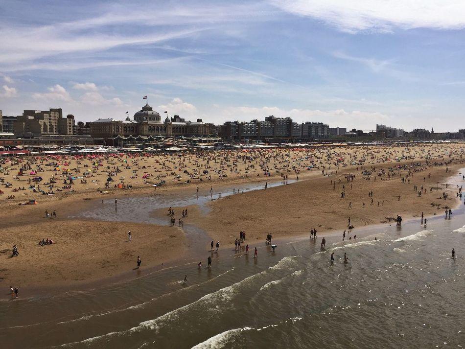 Scheveningen  Scheveningen Pier Beach Noordzee Strand Kurhaus Promenade Beach Life