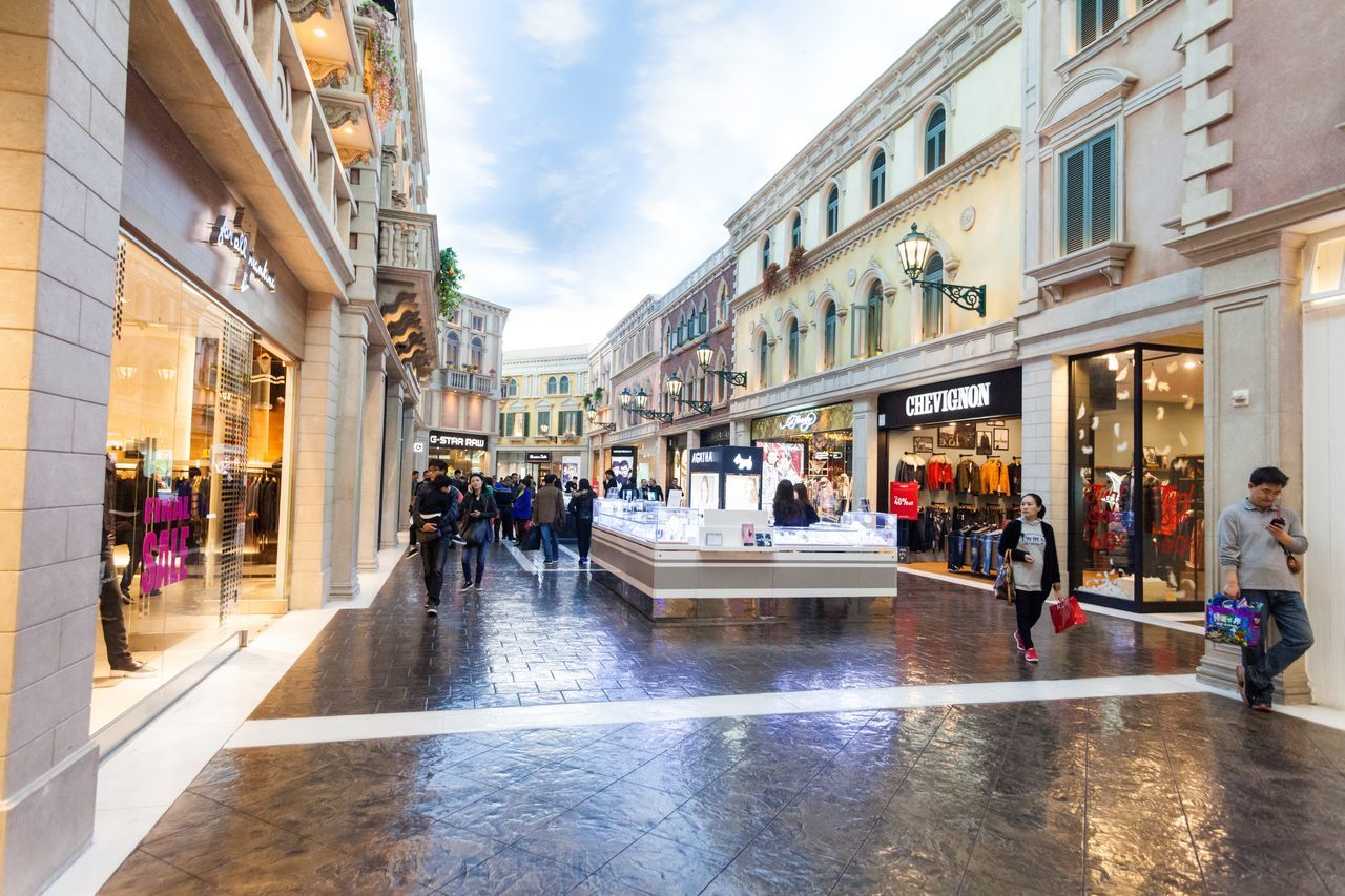 The Venetian Macao is a luxury hotel and casino resort in Macau owned by the American Las Vegas Sands company. Architecture Building Exterior Built Structure Casino City Cotai CotaiStripMacau Day Hotel Interior Interior Design Large Group Of People Macao  Macao China Macau Macau, China Men Outdoors Shopping Shopping ♡ Sky The Venetian The Venetian Macau Resort Hotel Venetian Water