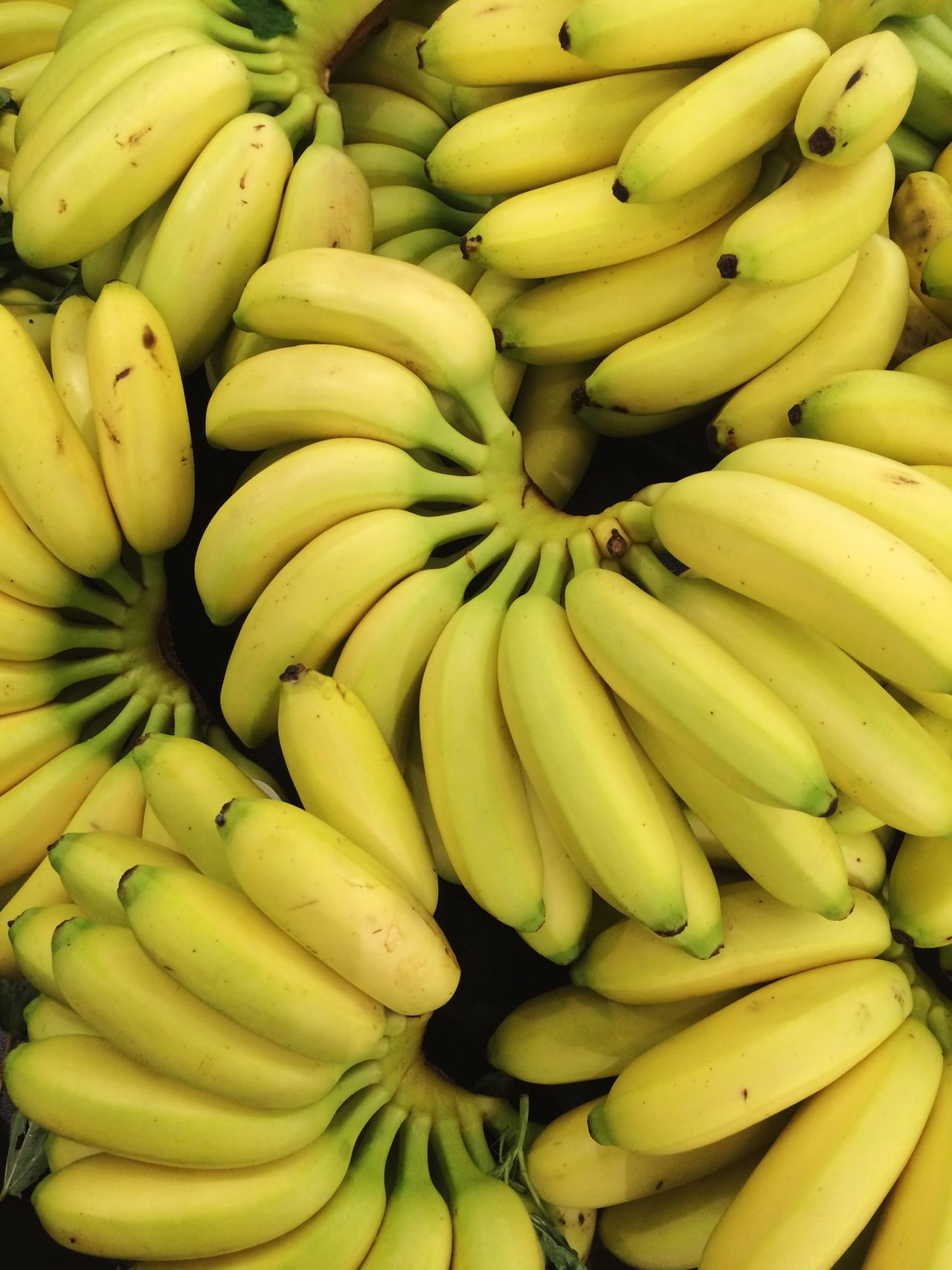 Bananas Fresh Produce Fruit Yellow Grocery