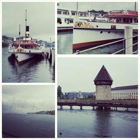 My beautiful way to Work today ? Luzern Lake Lucerne VierwaldstätterSee Schiff Boat Schweiz Switzerland